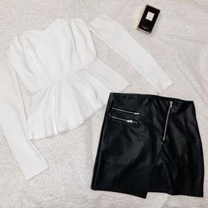 White Off - Shoulder Blouse